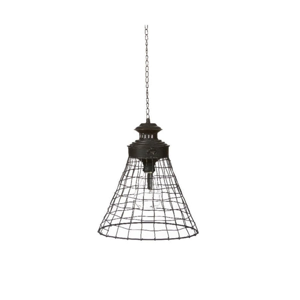 Industrial Led Hanging Lamp at the Farthing