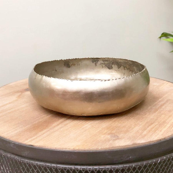 Industrial Metal Display Bowl | Farthing 2