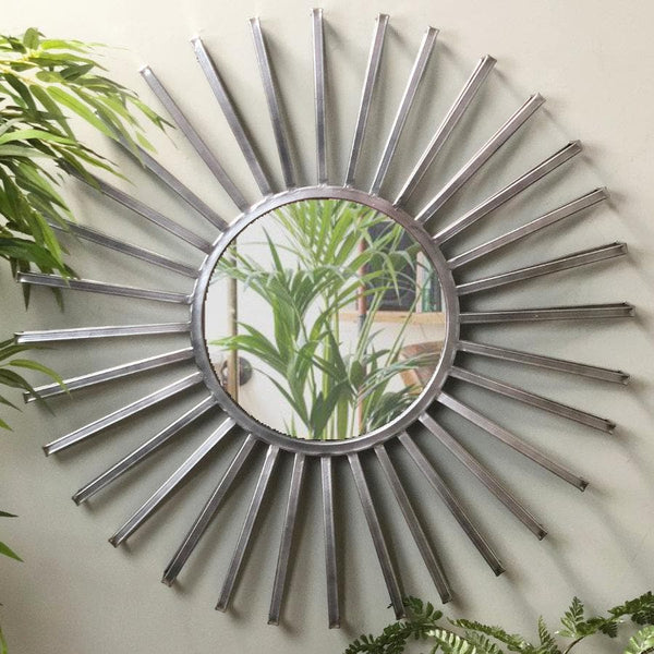 Industrial Starburst Wall Mirror at the Farthing 1