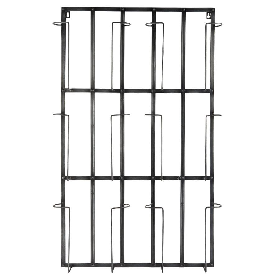 Industrial Wall Mount Magazine Rack at the Farthing 1