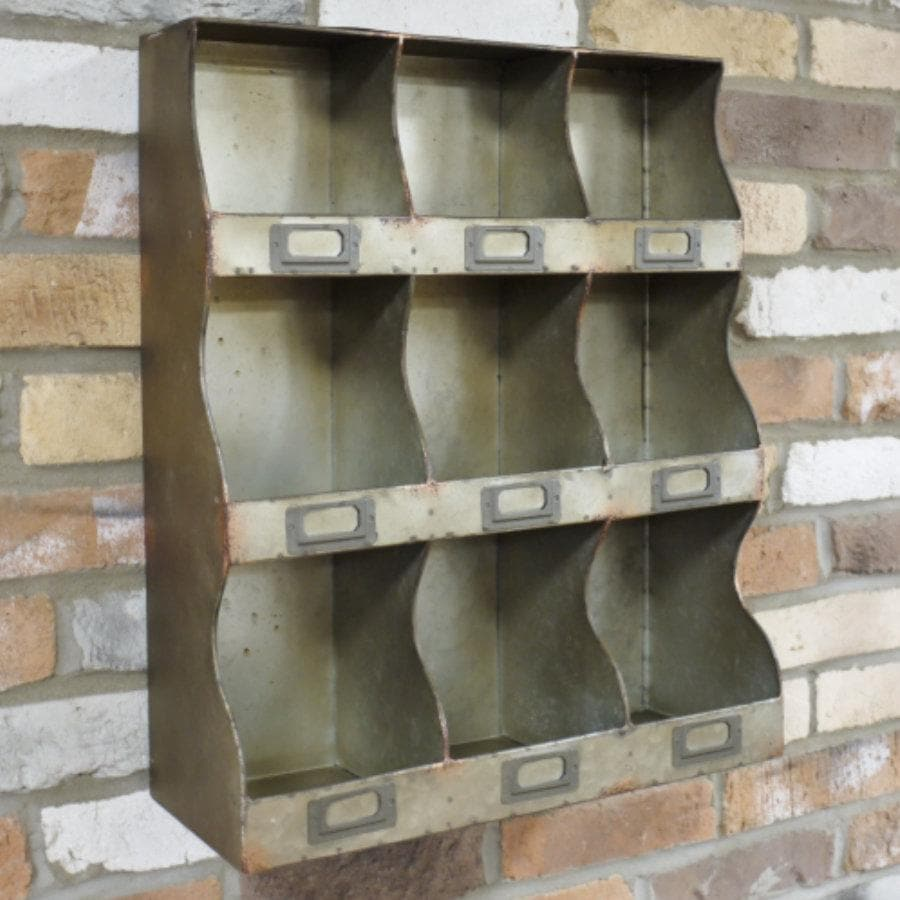 Industrial Metal Cubby Hole Storage Unit | The Farthing