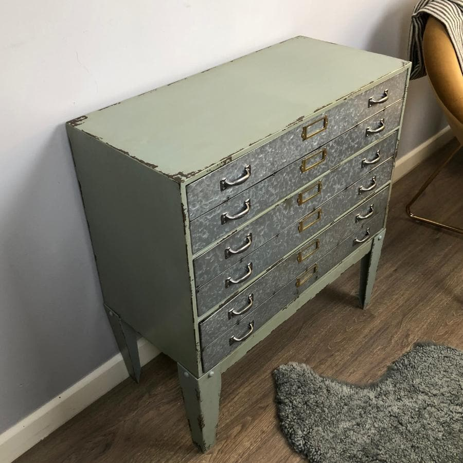 Iron Drawer Storage Fernlee Cabinet | The Farthing