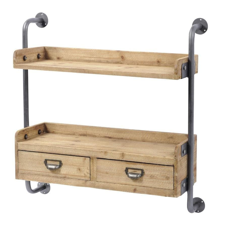 Kenway Rustic Wall Shelf at the Farthing