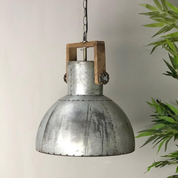 Large Watergate Factory Pendant Light at the Farthing
