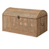 Domed Top Fine Rattan Storage Chest at the Farthing