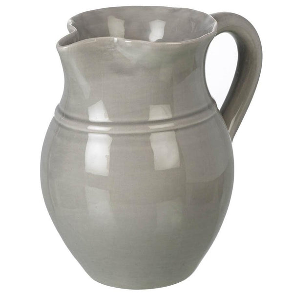 Large Ceramic Broadwindsor Pitcher - Grey