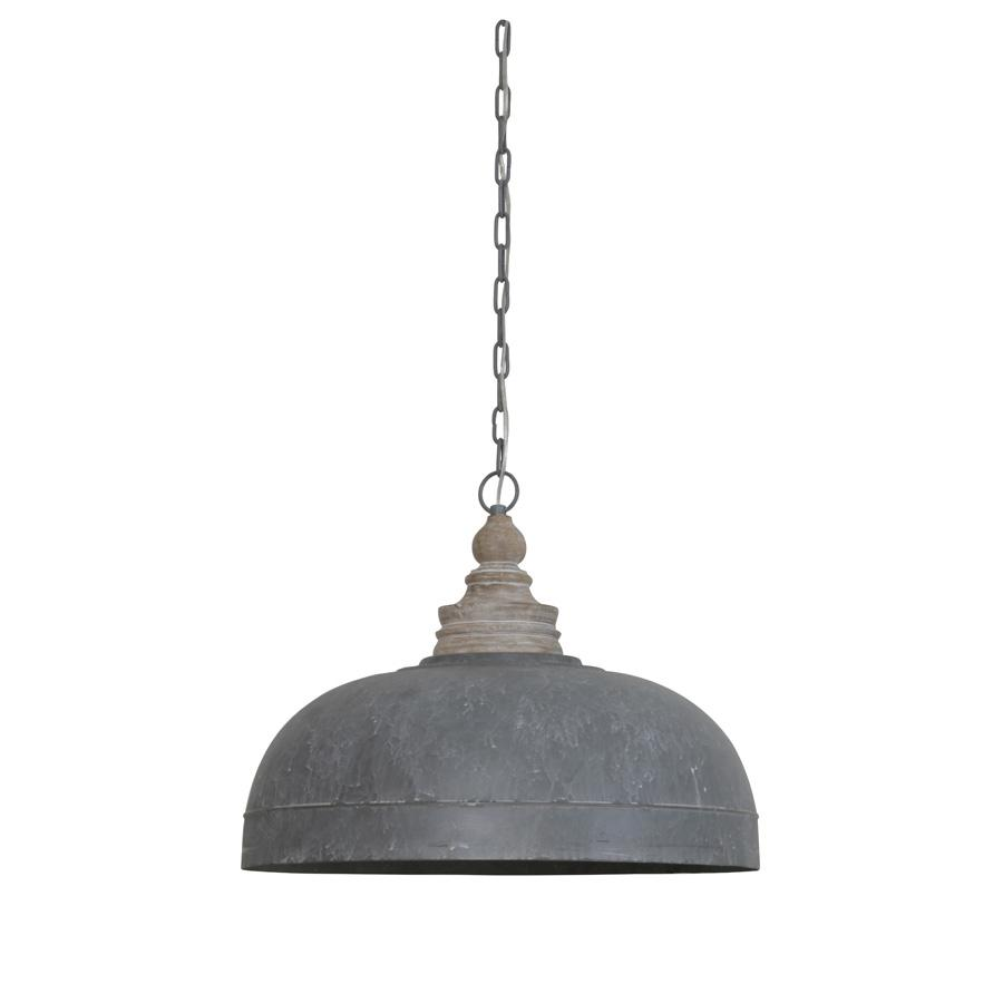 Large Purbeck Metal Pendant Light | Farthing