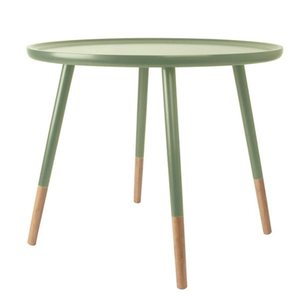 Large Round Netherbury Side Table - Morning Green