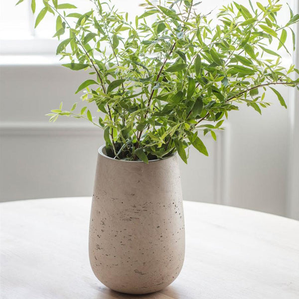 Stratton Vase, Large in Stone - Cement | Farthing