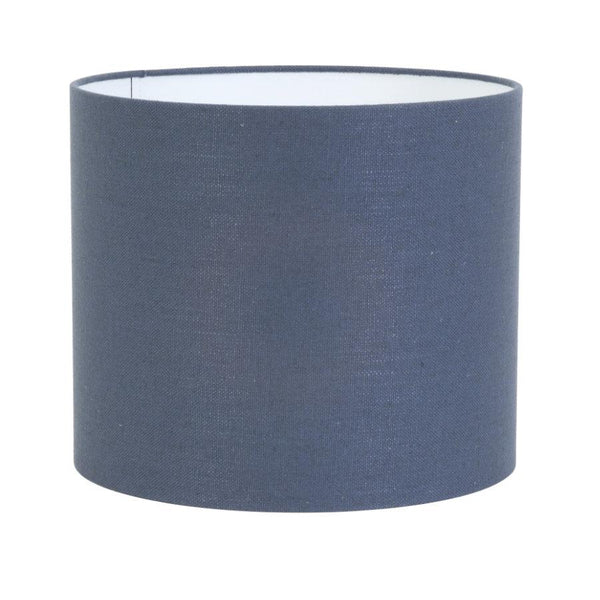 Large Woven Cotton Lamp Shade - Blue | The Farthing