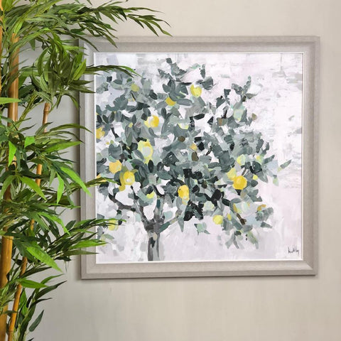 Lemon Tree - Unglazed Framed Wall Print at the Farthing  1