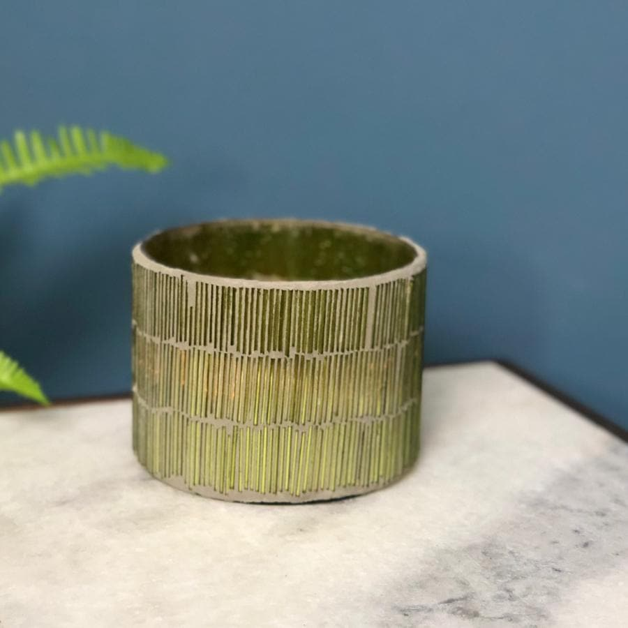 Light Green Fortois Tea Light Holder at the Farthing