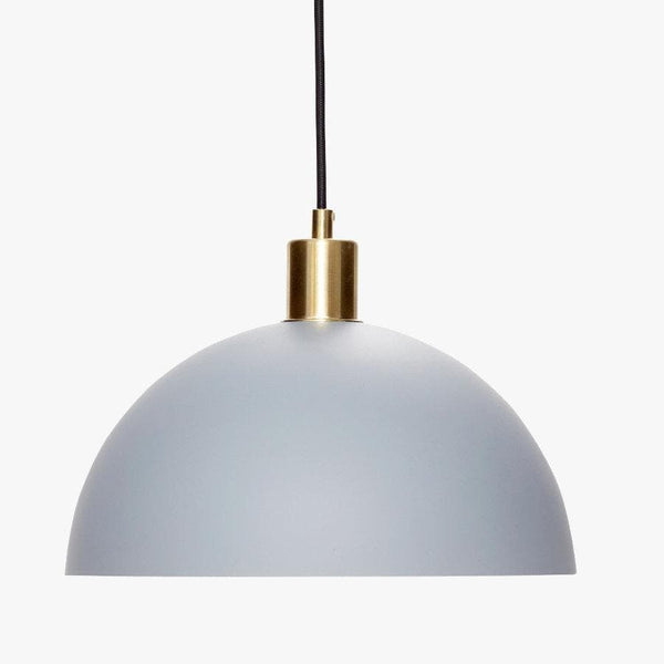 Light Grey Pendant Light at the Farthing