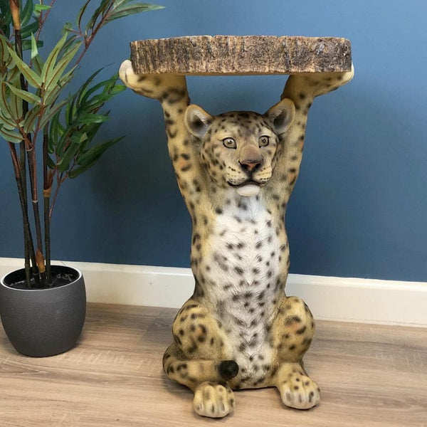 Luke Leopard Side Table at the Farthing