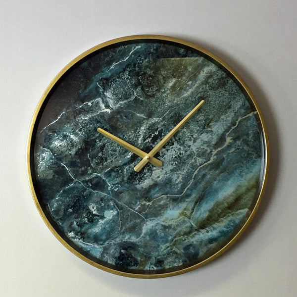 Marble Effect Wall Clock at the Farthing 1