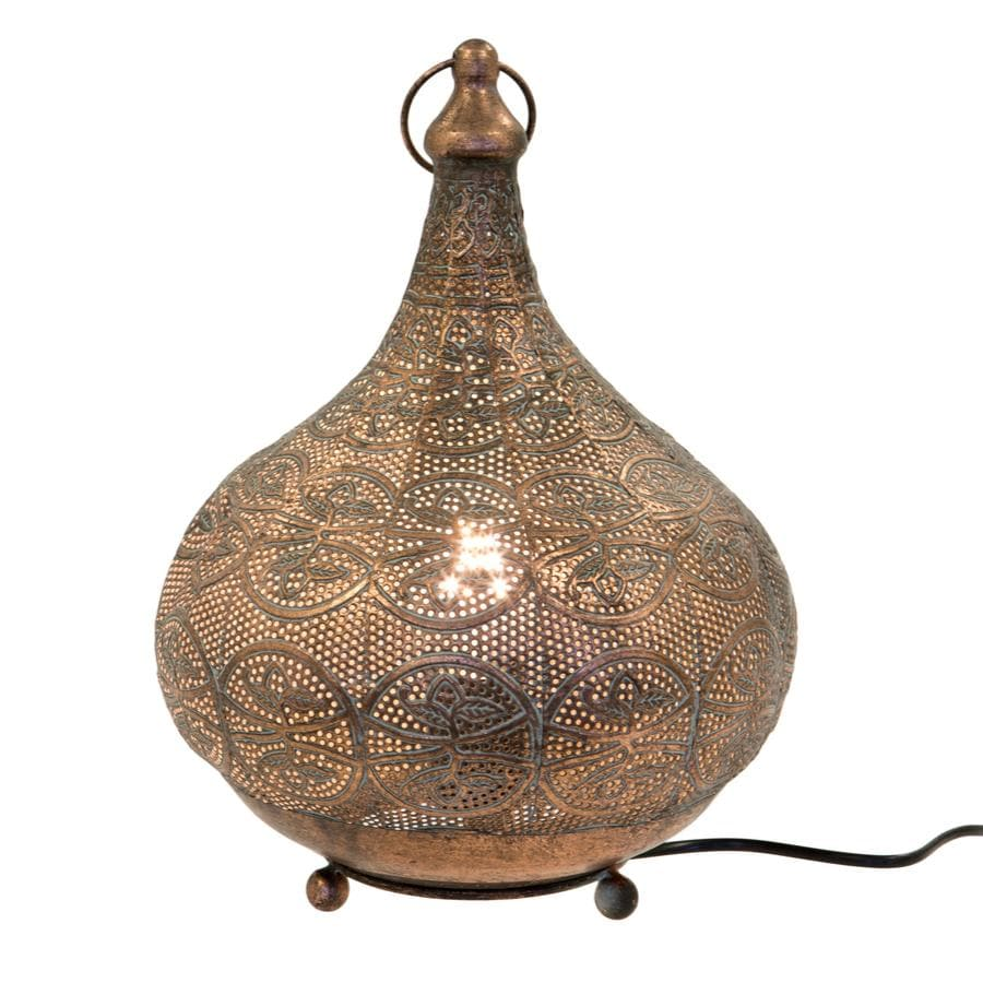 Marrakesh Filigree Metal Table Lamp 1