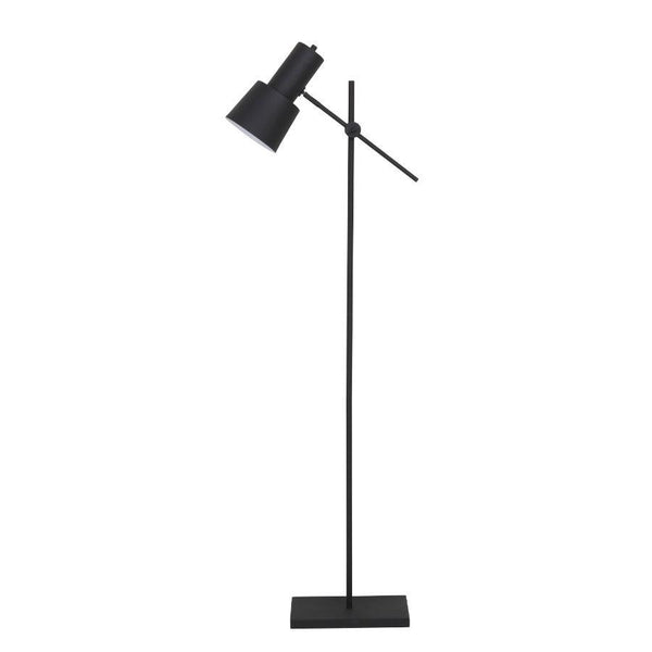Matt Black Angle Floor Lamp at the Farthing