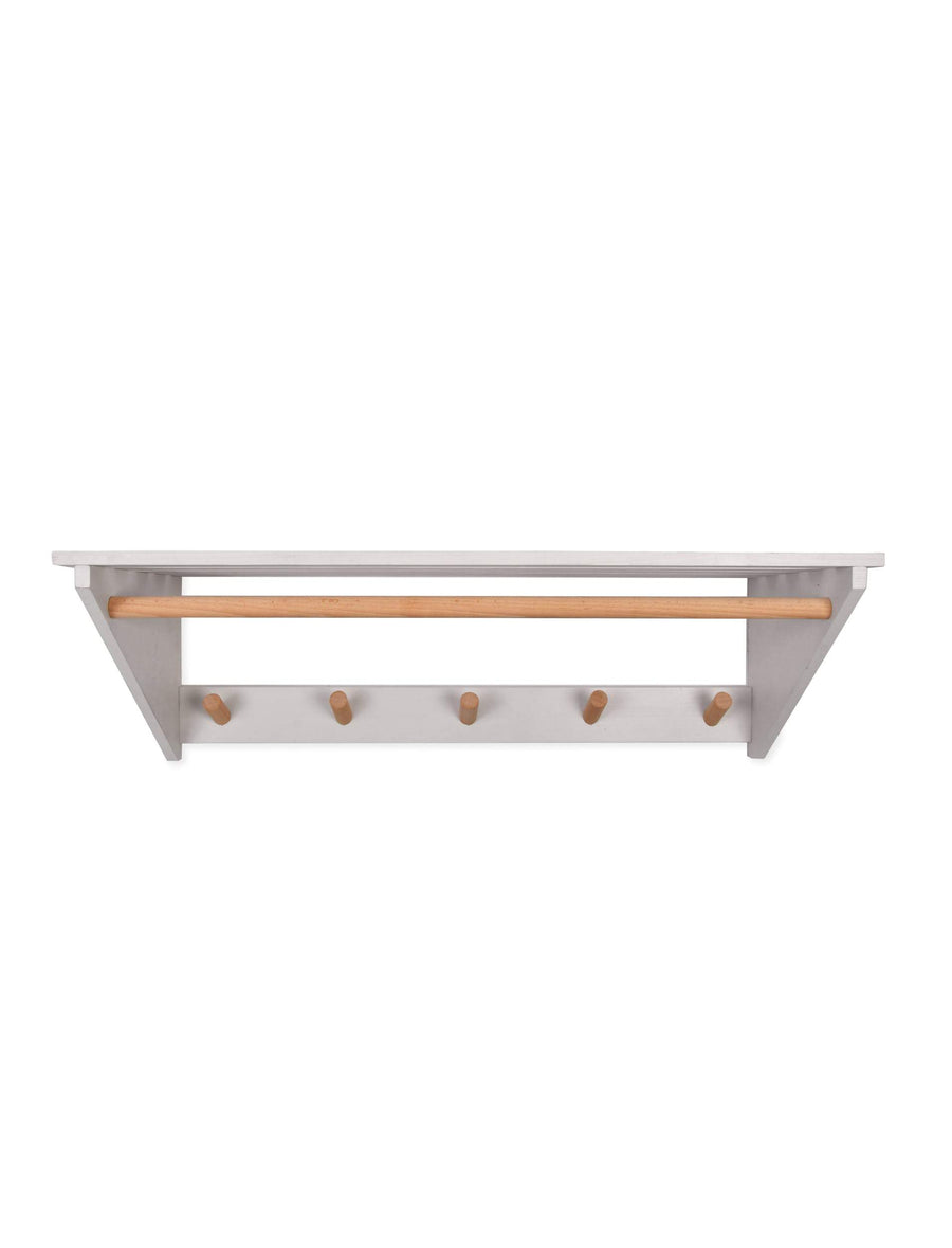 Melcombe Slatted Wooden Shelf at the Farthing