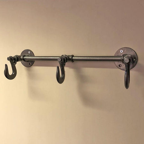 Metal Butchers Hooks Rail | Farthing