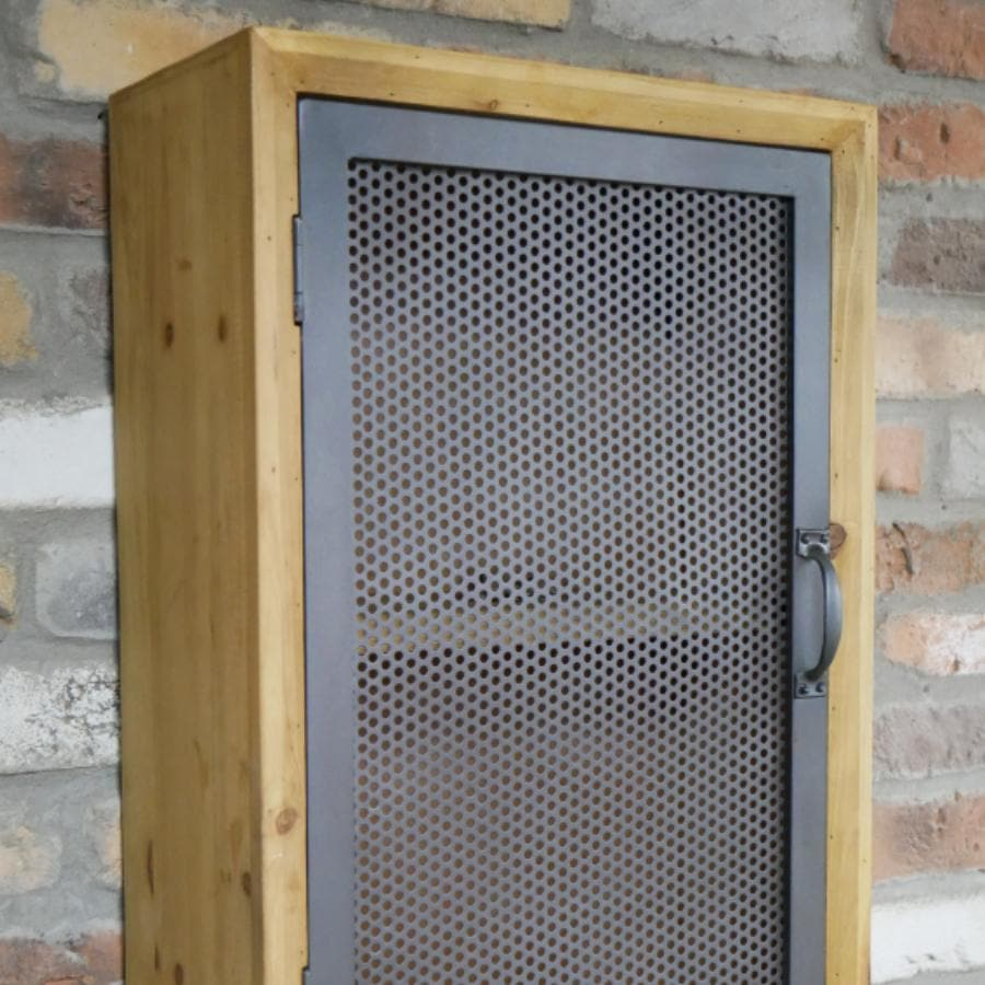 Metal Fronted Axford Wall Cabinet