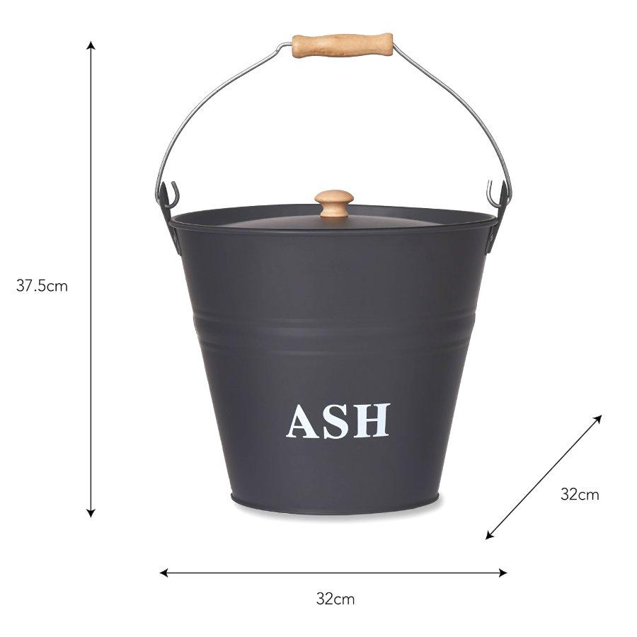 Metal Ash Bucket at the Farthing