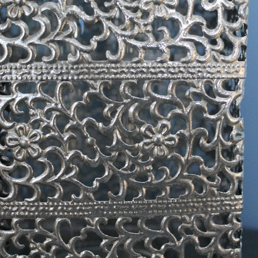 Metal Filigree Lantern at the Farthing 3