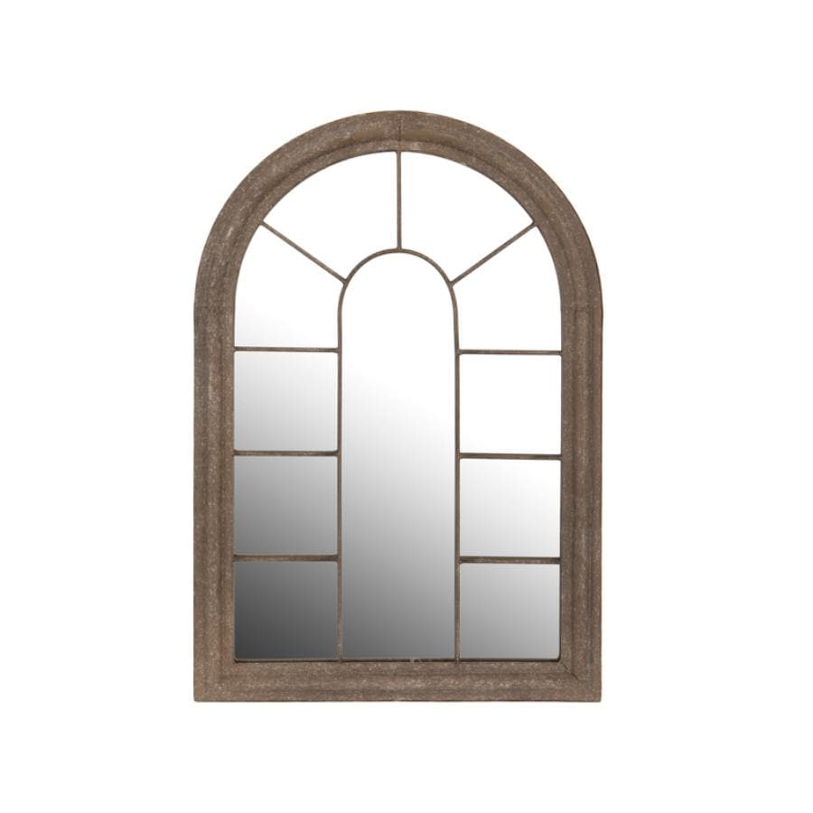 Metal Garden Arch Window Mirror - Medium