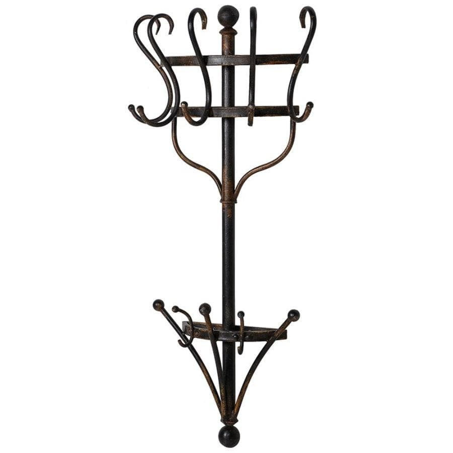 Metal Wall Mounted Coat Rack | The Farthing