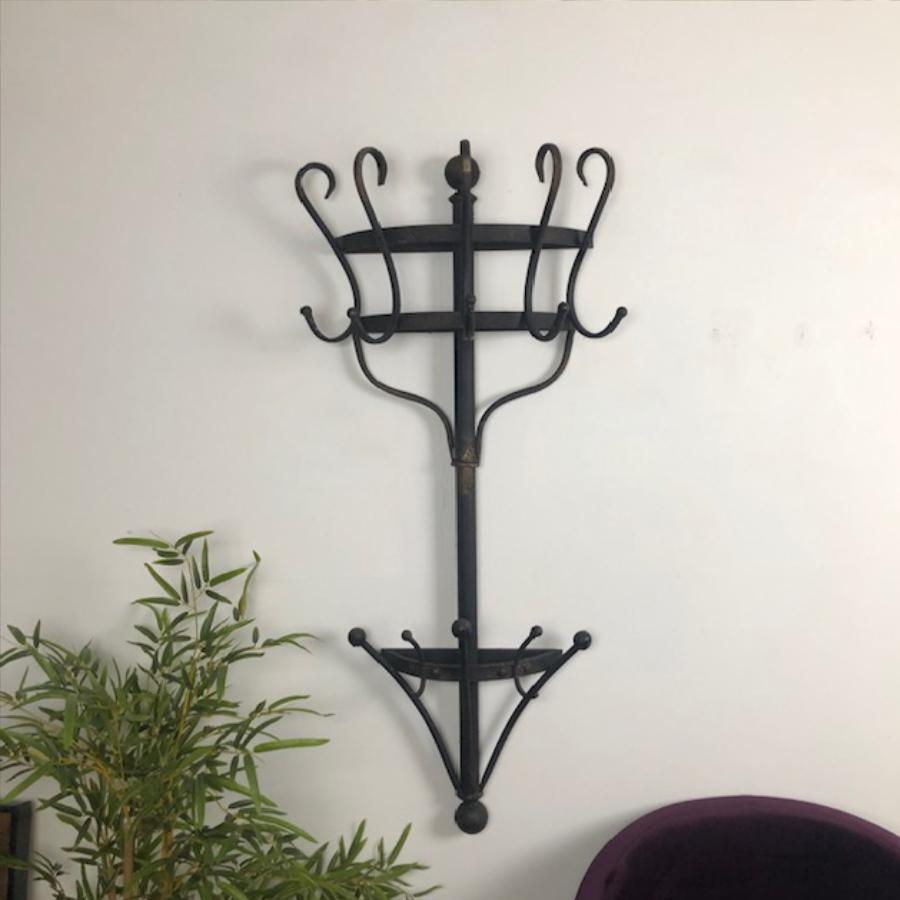 Metal Wall Mounted Coat Rack | The Farthing 2