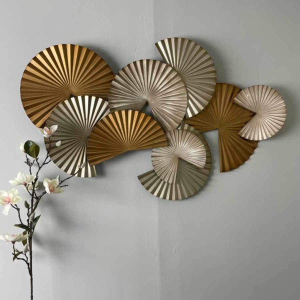 Metallic Discs Wall Art | The Farthing