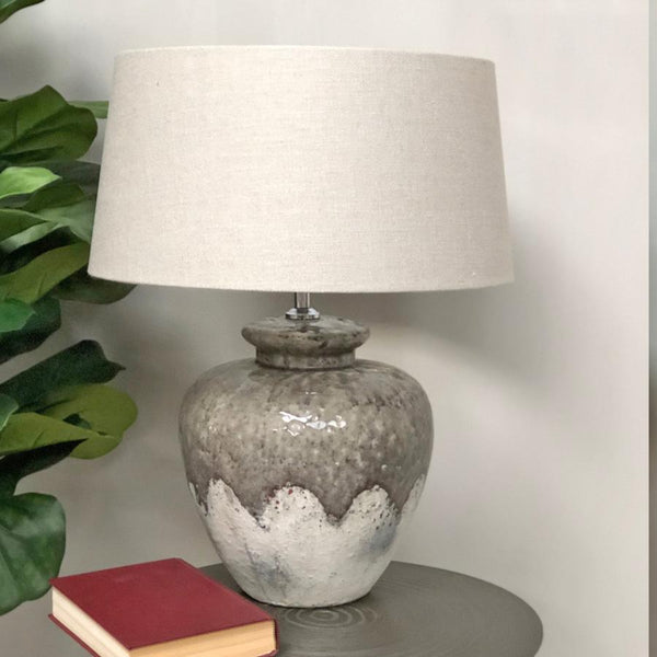 Milton Abbas Distressed Table Lamp | Farthing