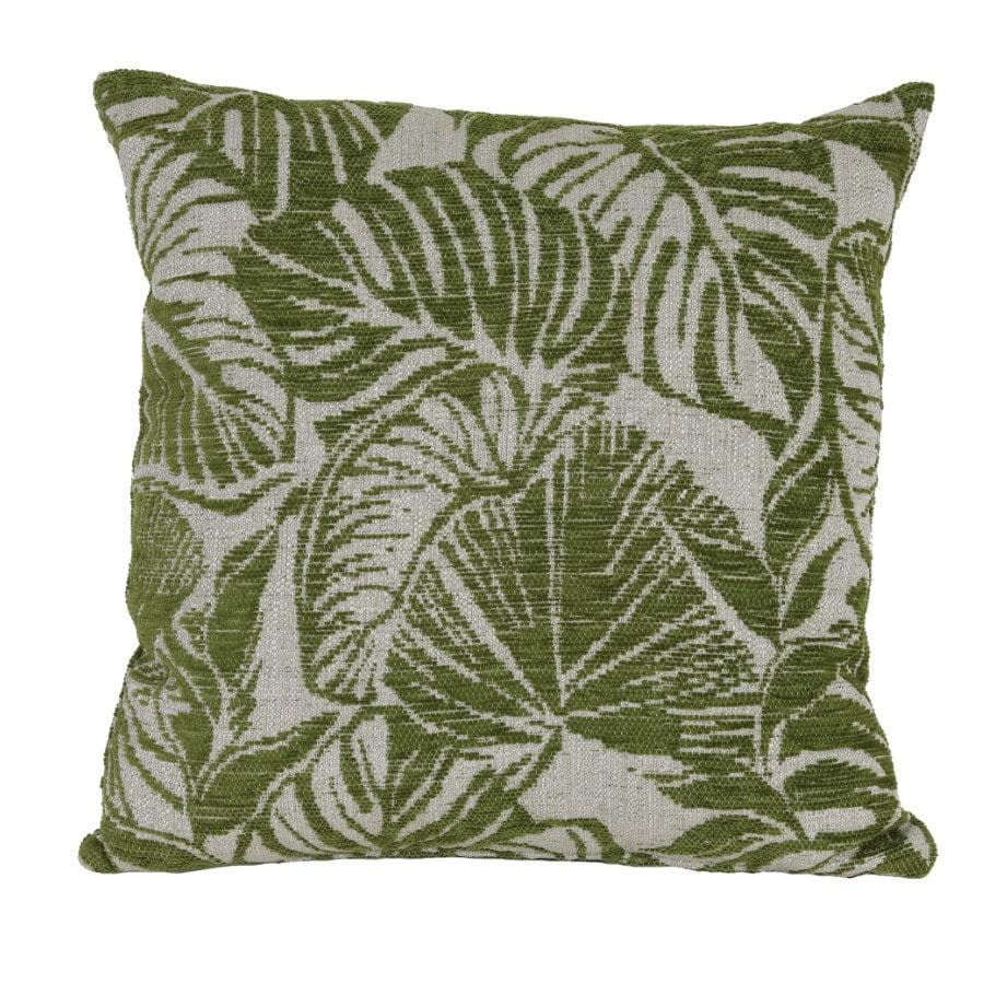 Monstera Green Leaf Cushion at the farthing