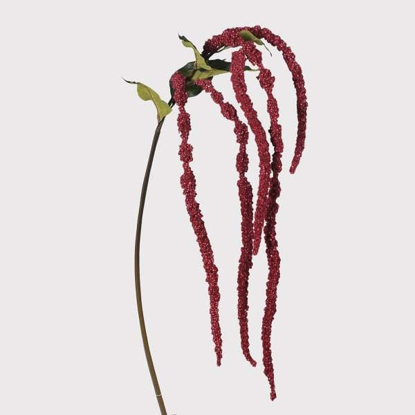 Artificial Red Amaranthus Spray