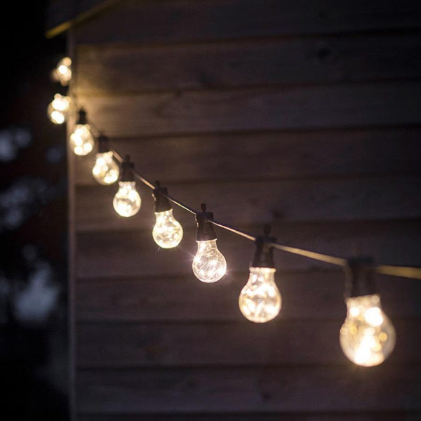 Naked Wire Led Festoon Lights - 10 Bulbs at the Farthing