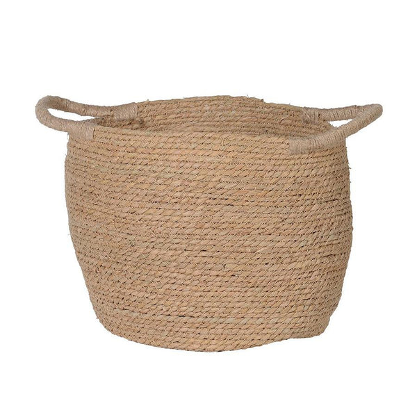 Natural Seagrass Basket with Handles | Farthing