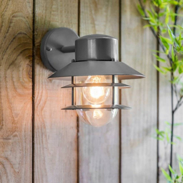 Nautical Strand Down Light in Charcoal - The Farthing  - 1