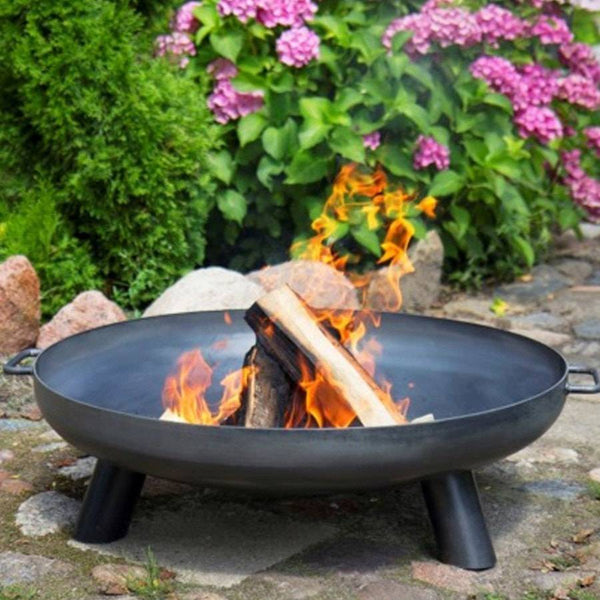 Nordic Steel Fire Pit Brazier - Extra Large - The Farthing