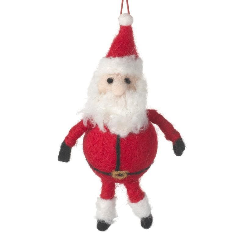 Felt Santa Tree Decoration | The Farthing