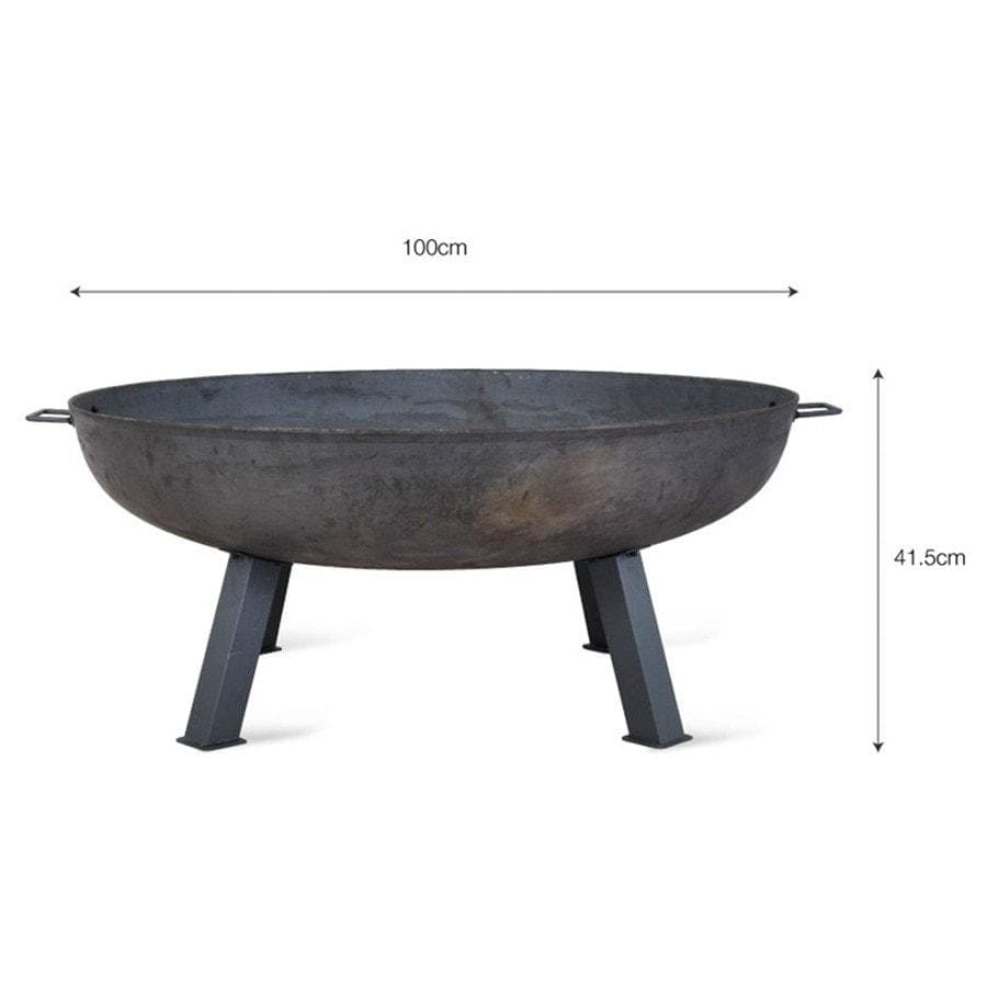 Outdoor Large Brazier Bowl at the Farthing