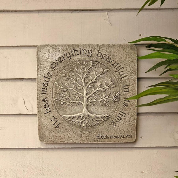 Outdoor Meaning of Life Wall Art | Farthing