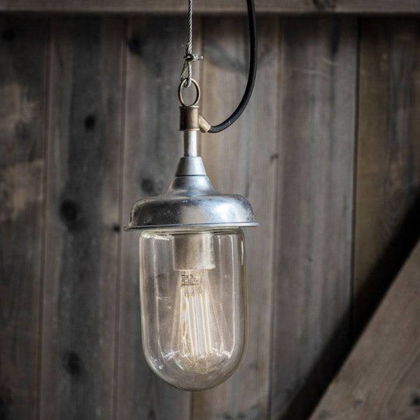 Industrial Harbour Indoor \ Outdoor Pendant Light | Farthing