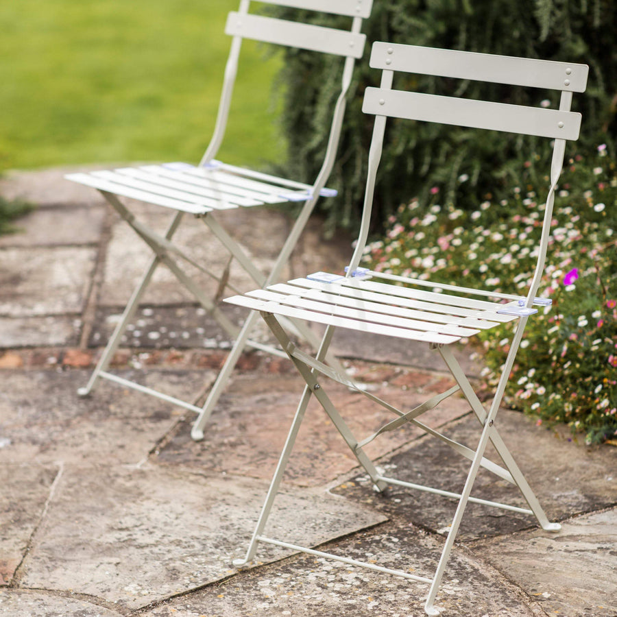 Set of 2 Bistro Chairs - clay