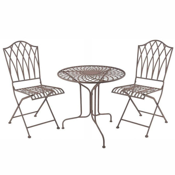 Parisian Metal Bistro Set at the Farthing