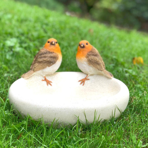 Patrick & Philippa Robins Bird Bath | The Farthing 1
