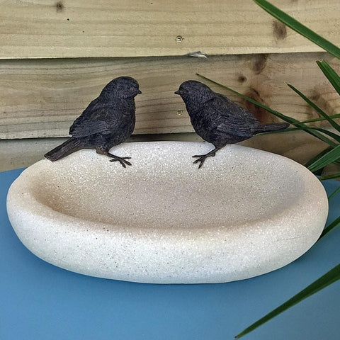 Peter & Paul Bird Bath at the Farthing