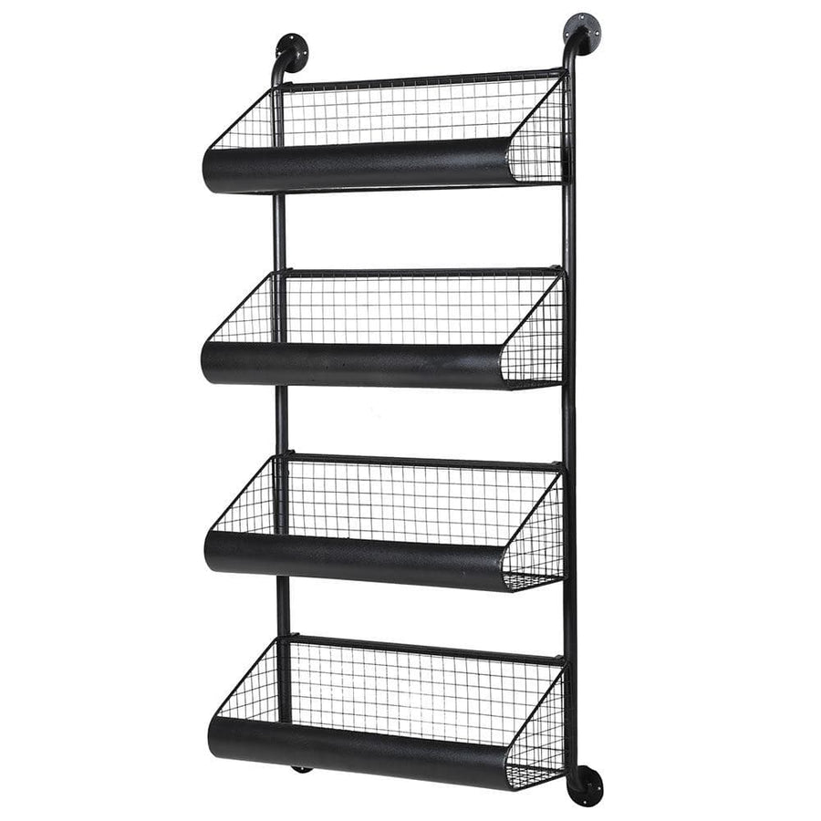 Industrial Iron wall Storage Unit