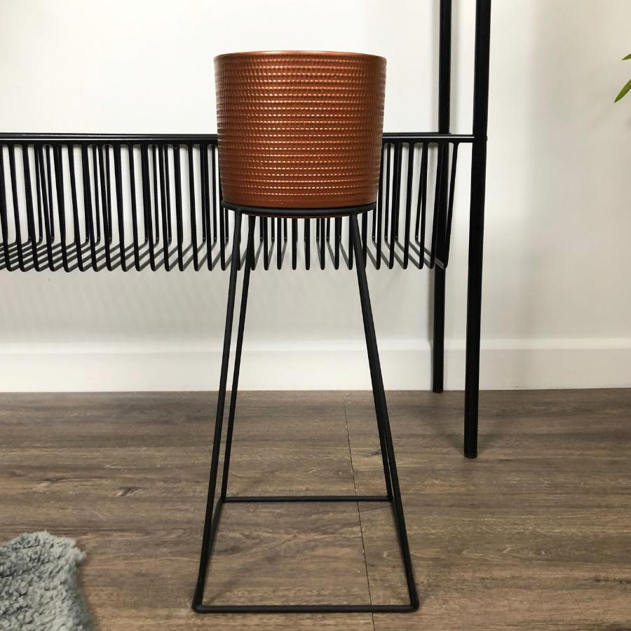 Raised Slender Frame Plant Pot at the Farthing