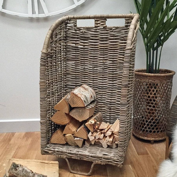Rattan Log Trolley - The Farthing  - 1