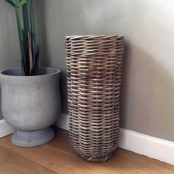 Rattan Umbrella Basket - The Farthing