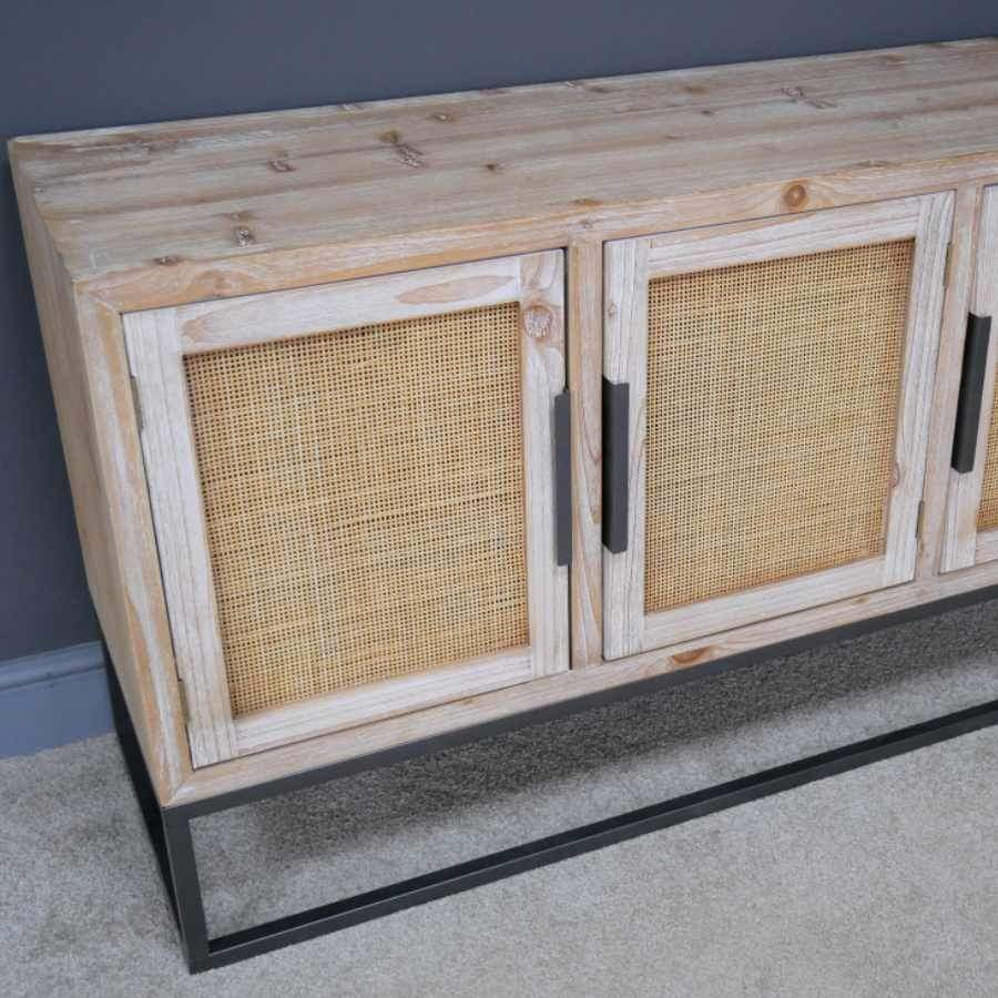 Rattan Wedded Falmouth Wide Sideboard